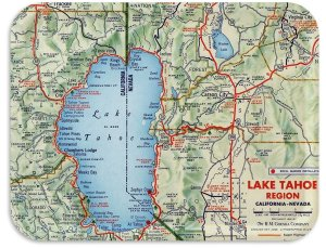 Lake tahoe by Shell 1956