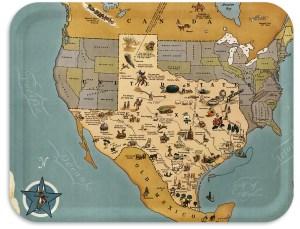 Texas Brag Maps 1948
