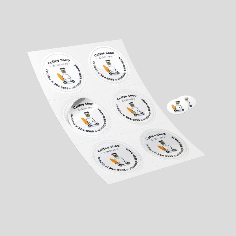 mock up Sticker TSMH POST