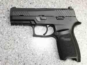 P320 Left Hand Side