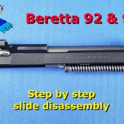 Beretta Slide Disassembly Video Post Image