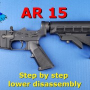ar 15 lower disassembly video post image