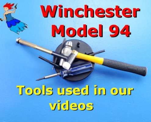 Winchester 94 tools used in our videos post image
