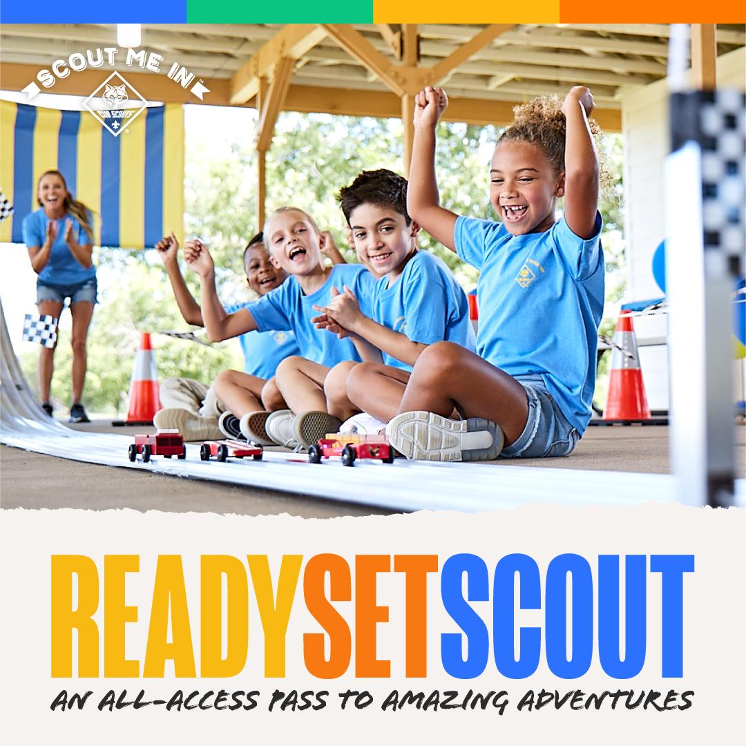 Fall Recruitment Asset - Ready Set Scout