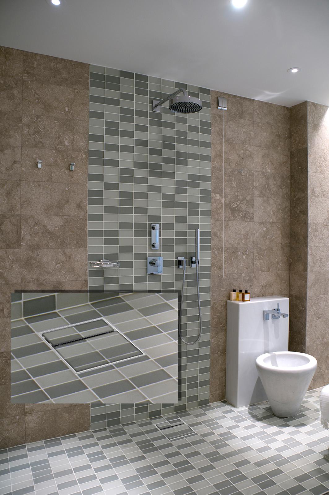 Mit der Bodenablaufpumpe komfortabel das neue Bad sanieren