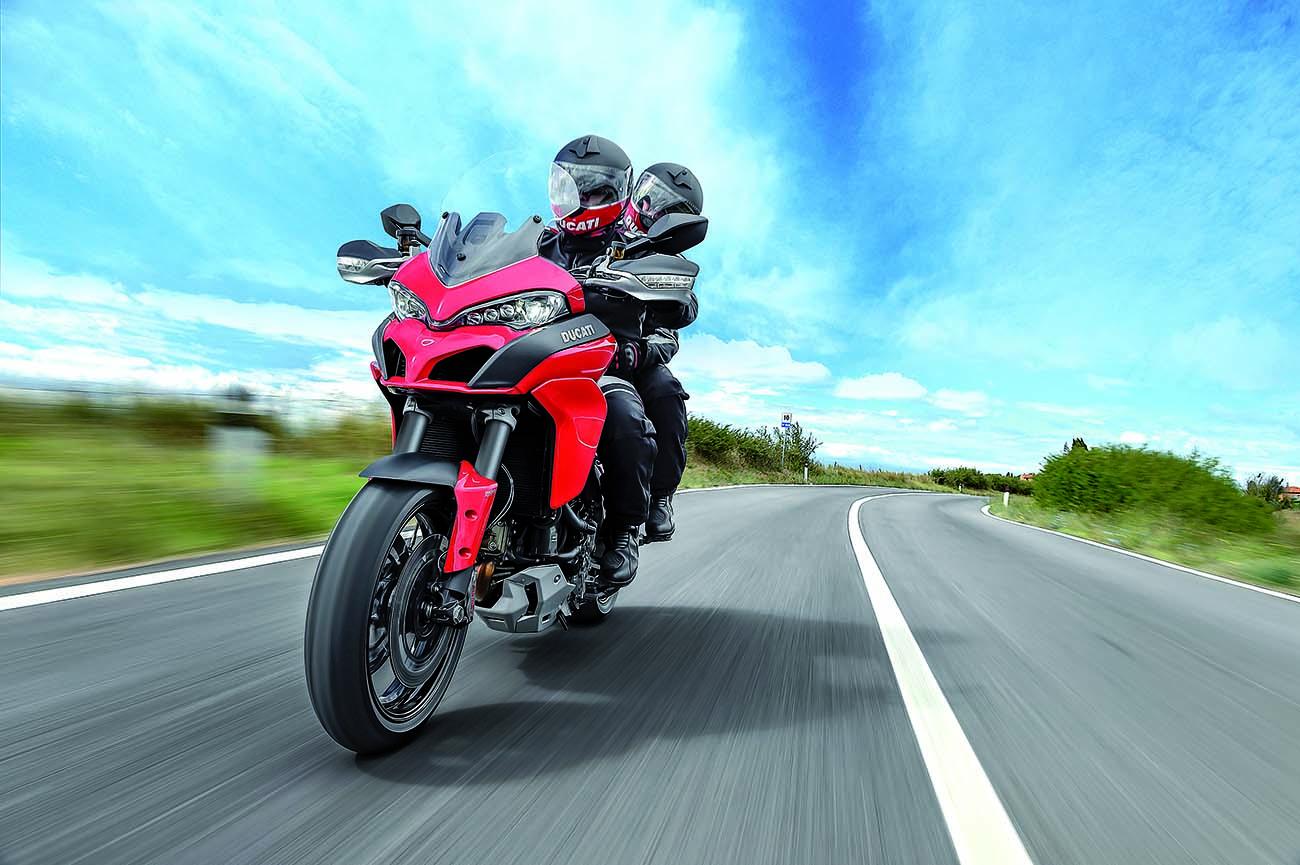Die Multistrada, das Allroundtalent von Ducati. Foto: Hersteller