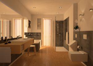 Bodenebene Duschflächen bieten mehr Komfort