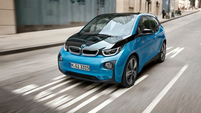 Mehr Reichweite für den Elekro BMW