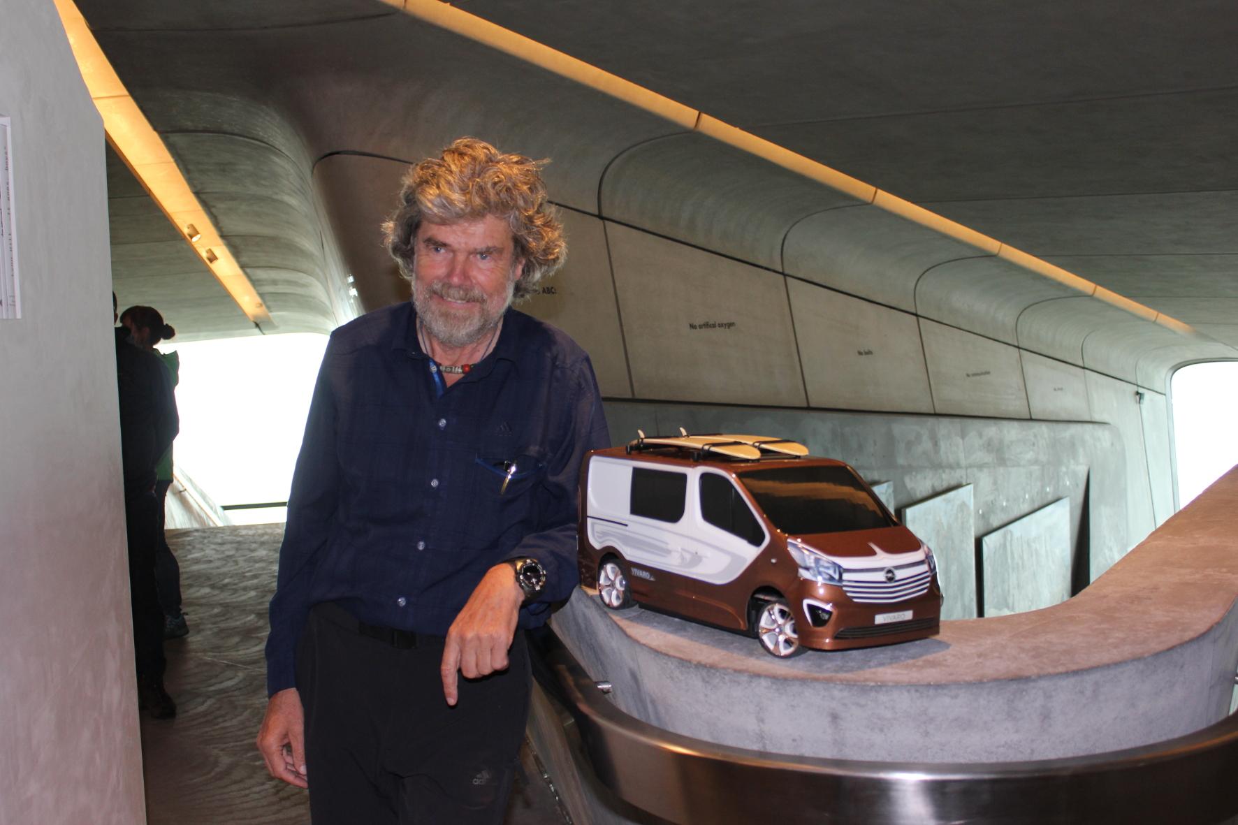 Reinhold Messner: Bergsteiger und Kulturmensch
