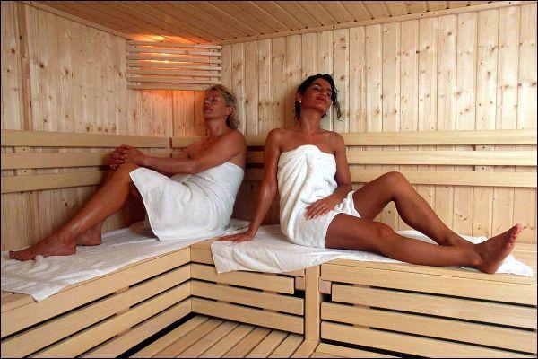Trotz Bluthochdruck in die Sauna