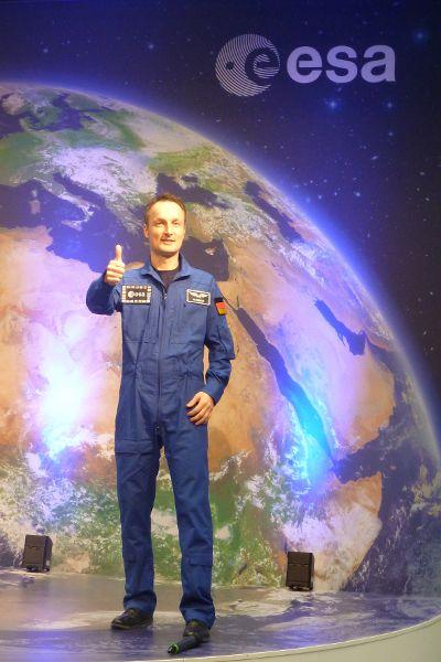 Ein europäischer Astronaut stellt sich vor