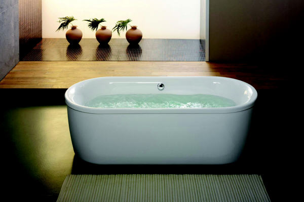 Modernes Bad mit mehr Bewegungsspielraum