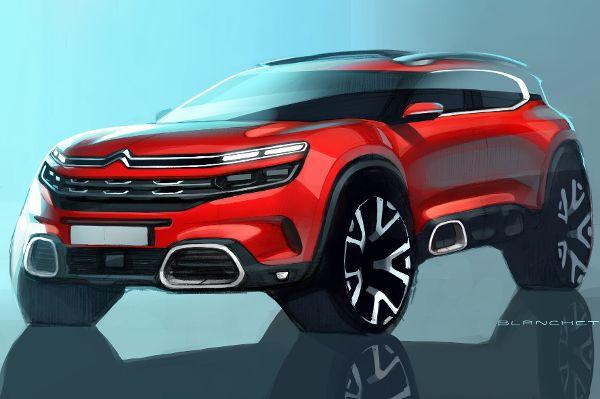 Citroen zeigte in Schanghai zwei neue SUV