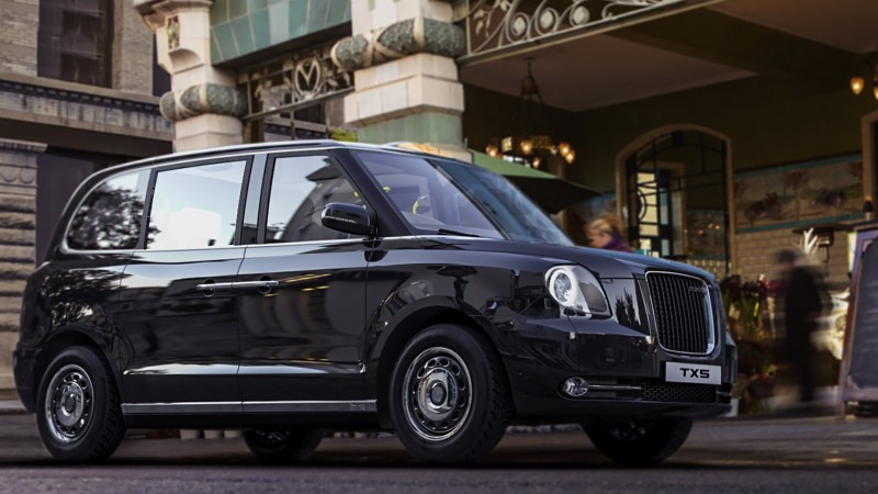 Das London-Taxi, ein Kosmopolit