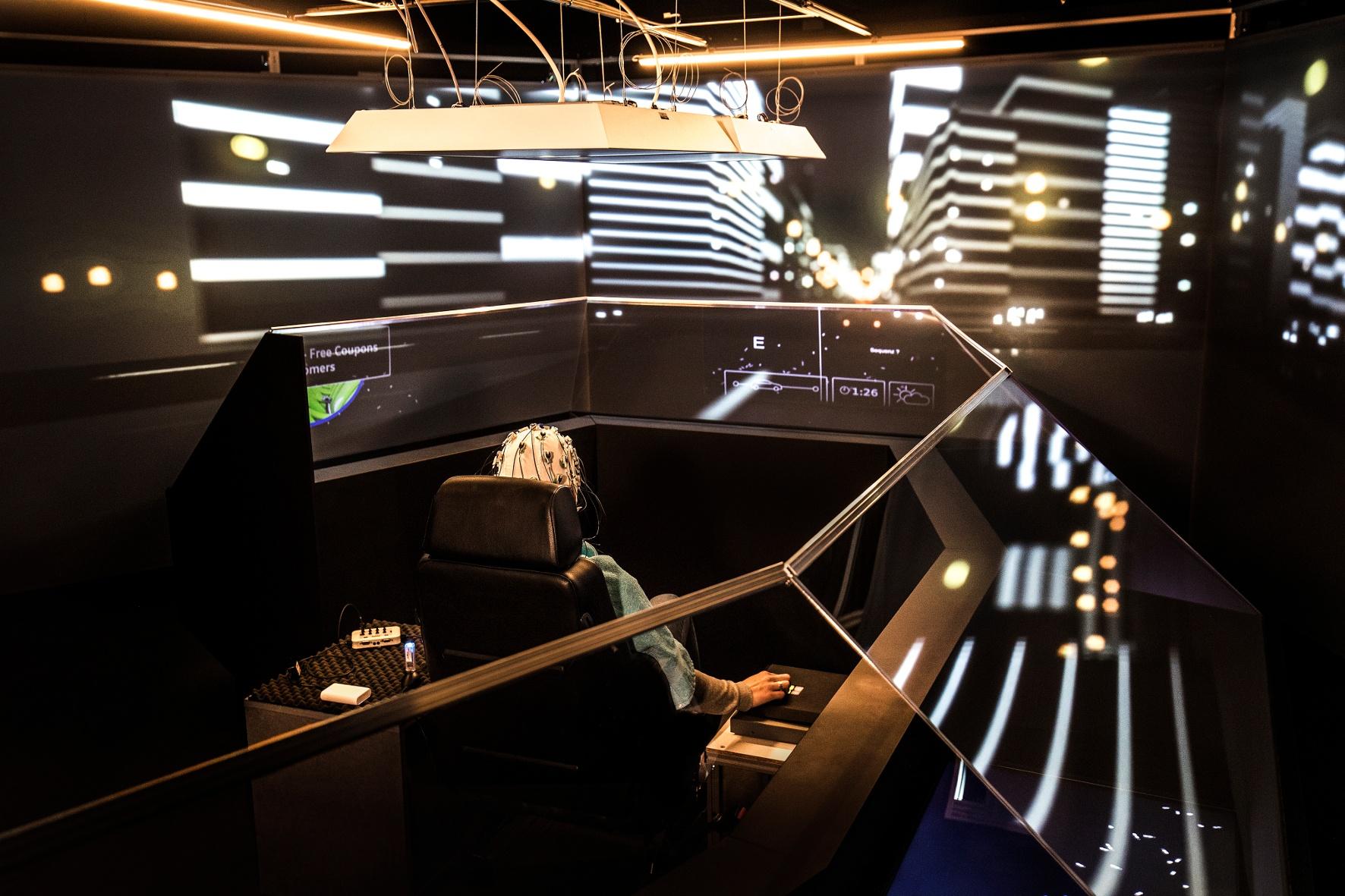 Digitaler mobiler Filmstar mit künstlicher Intelligenz