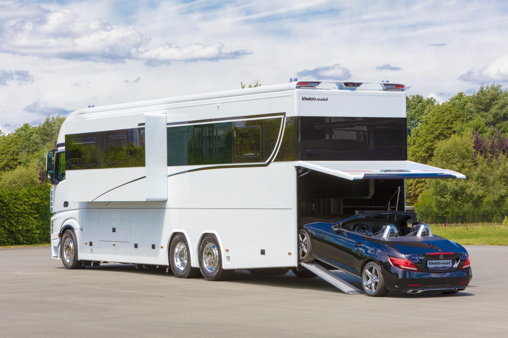 Eigentumswohnung auf Rädern mit Sterne-Küche für Clamour-Camping