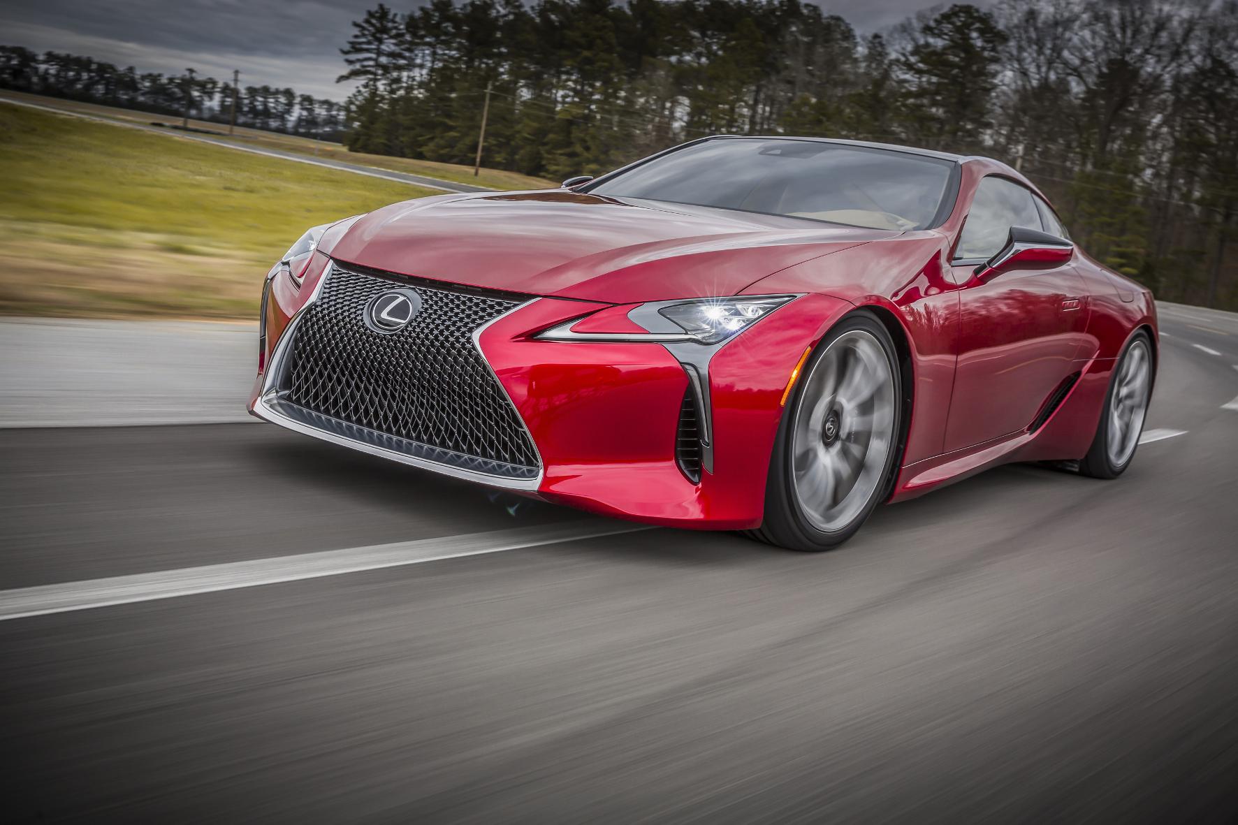 Lexus LC: Ein Zeichen setzen