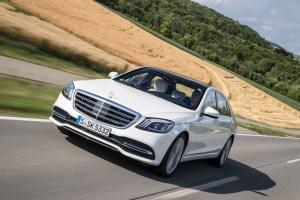 Im Juli 2017 startete die massiv überarbeitete Mercedes S-Klasse in die zweite Hälfte ihres Modellzyklus.