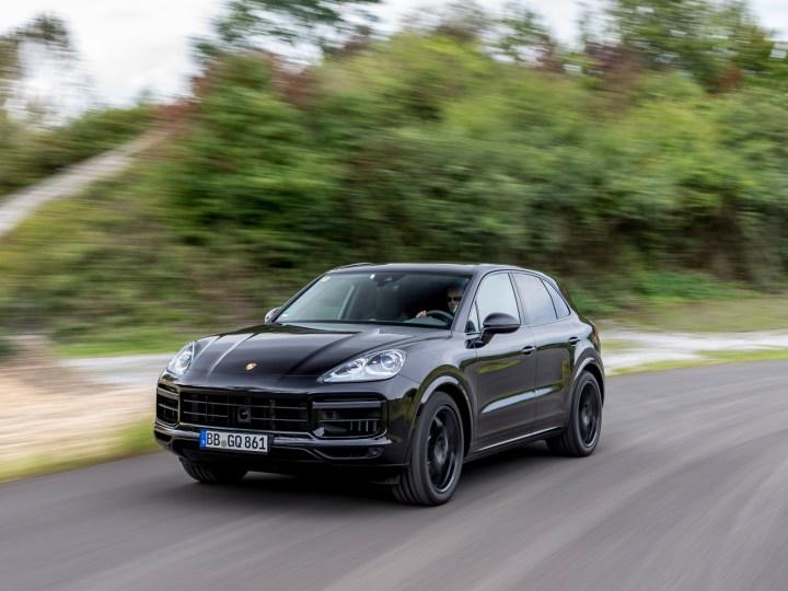 Der neue Porsche Cayenne kann mehr als nur fünf Personen von A nach B bringen. © Porsche / TRD Auto
