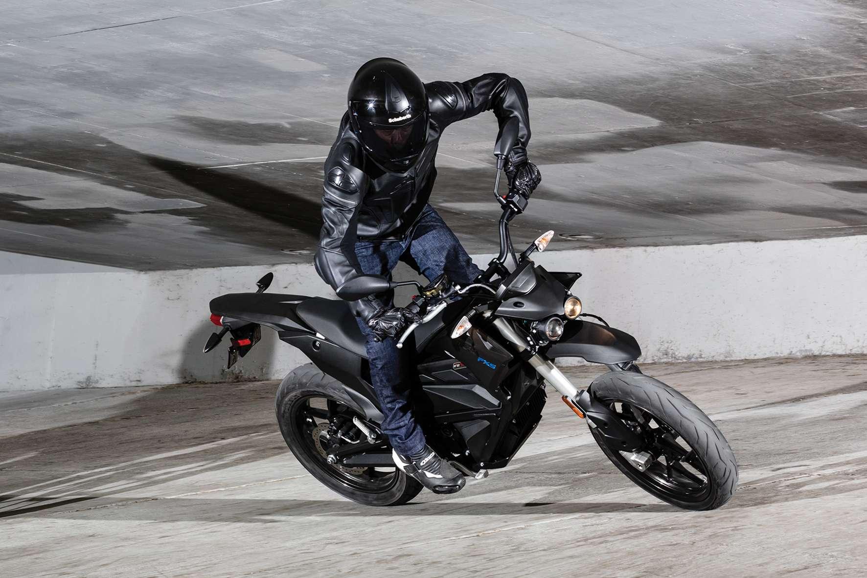 Elektro-Motorräder kommen nur langsam in Schwung