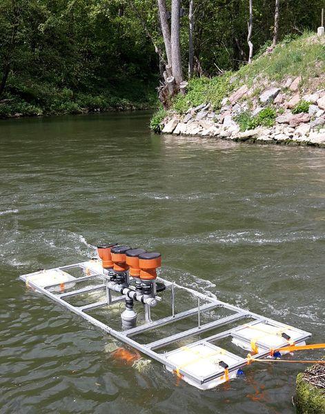 Mit Wasserkraft Energie aus Flüssen gewinnen
