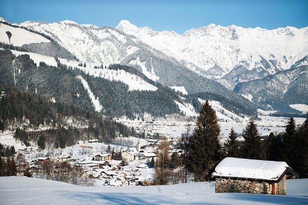 Hotel Löwe: Punktlandung für Skifahrer