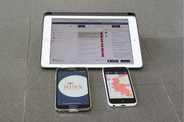 Gefahren-App sorgt für Bevölkerungsschutz und Katastrophenhilfe