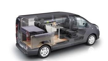 Nissan NV300 Reisemobil Michelangelo von der Seite