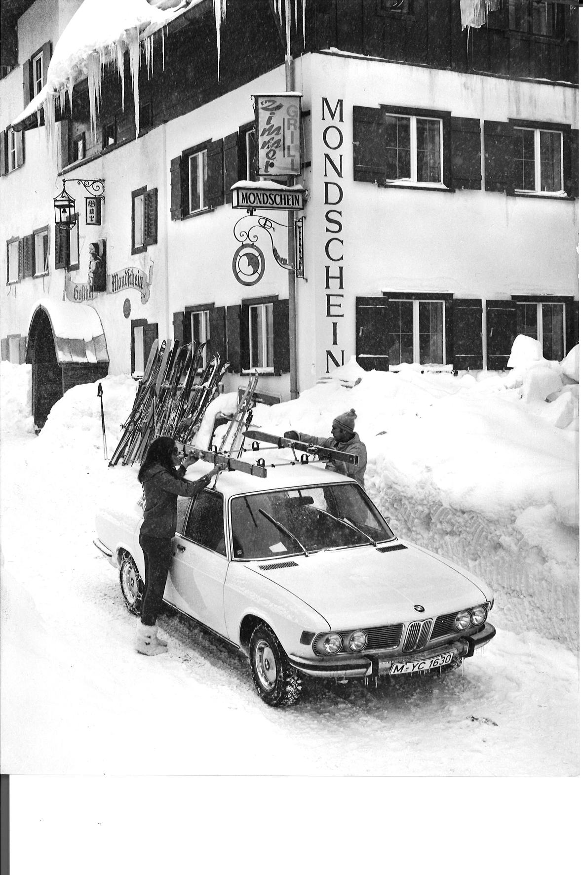 Zurück in die Vergangenheit: Probleme bei der Skihalterung