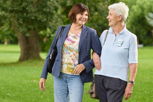 Demenzkranke lassen sich per Ortung ausfindig machen