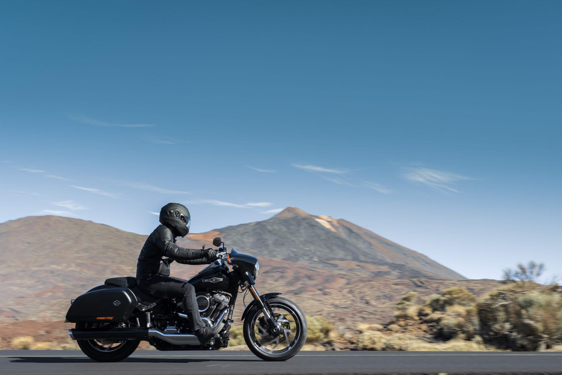 Harley-Davidson Sport Glide: Ein dynamischer Tausendsassa