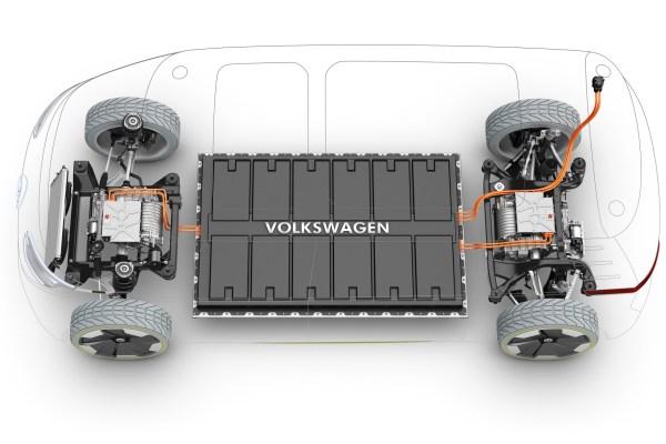 VW-Batteriezellenproduktion