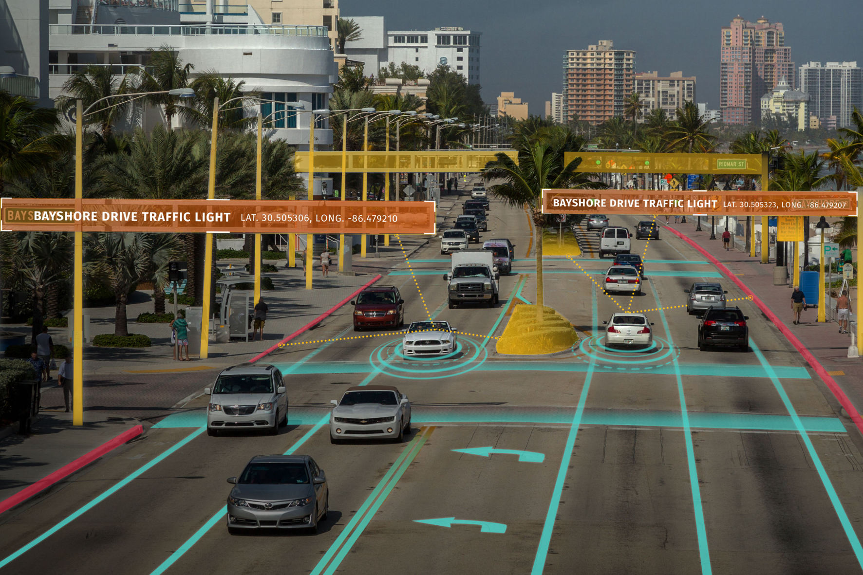 Wissenschafter erforschen autonomes Fahren auf dem Uni-Parkplatz