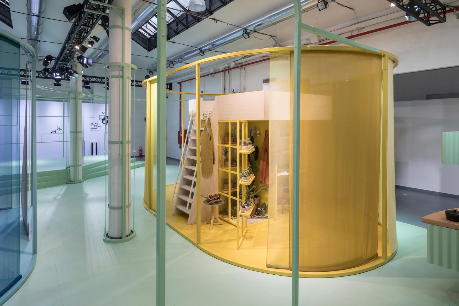 """Autobauer präsentierte in Mailand urbanes Wohnkonzept: """"Mini Living – Built by all"""""""