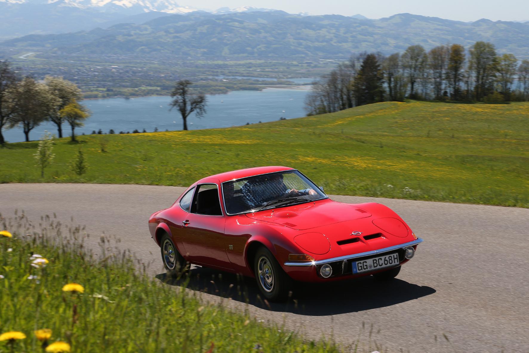 Legendärer Opel GT feierte seine Geburtstagsparty am Bodensee