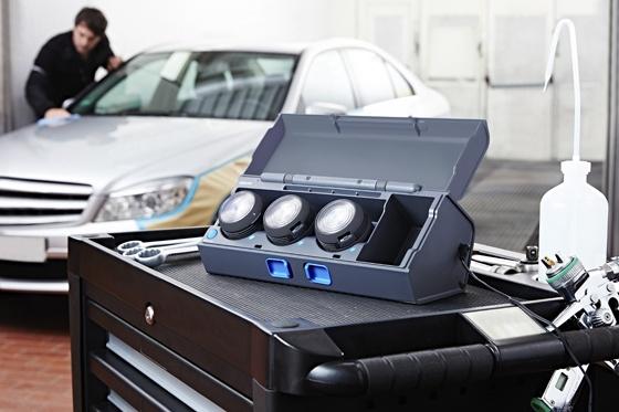 Werkstatt und Garagenlicht: Derartige Profi-Werkzeuge verfügen über hohe Schutzklassen.