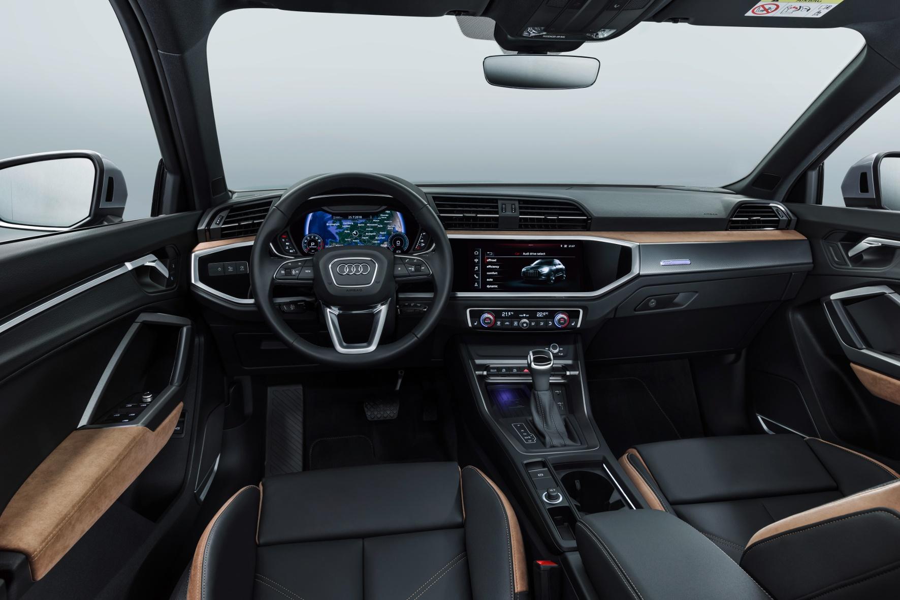 Kompakter mit High-Tech gefüllter Mittelklasse SUV aus Ingolstadt