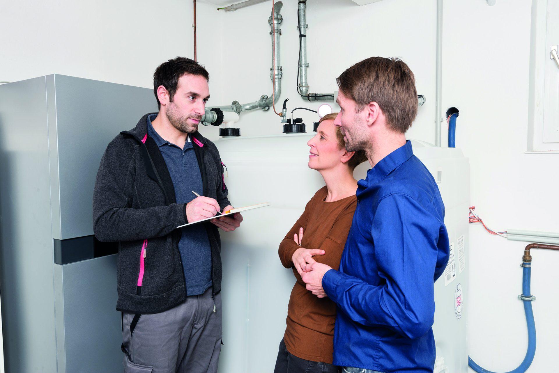 Modernisierung der Heizung mit Brennwerttechnik bietet Planungssicherheit