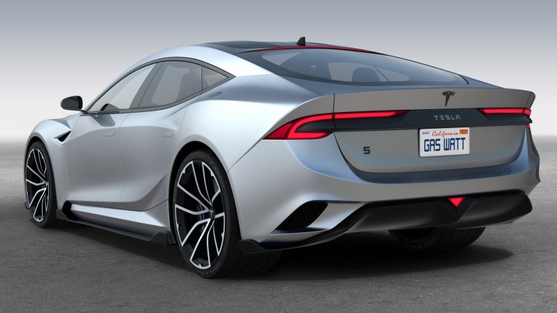 Neue Tesla Modell Visionen