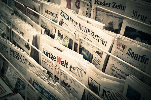 Gedruckt oder digital: Zeitungen werden gerne gelesen. © MichaelGaida / pixabay.com / TRD Marketing und Werbung