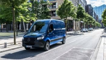 Der letzte Bereich betrifft das Thema E-Mobilität. 2019 kam die elektrische Variante der Sprinters auf den Markt.