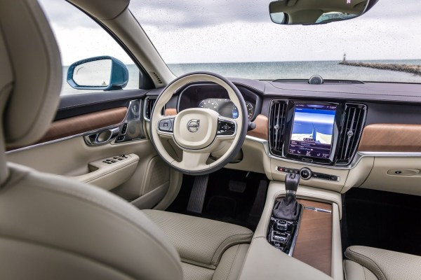 New Volvo S90, location