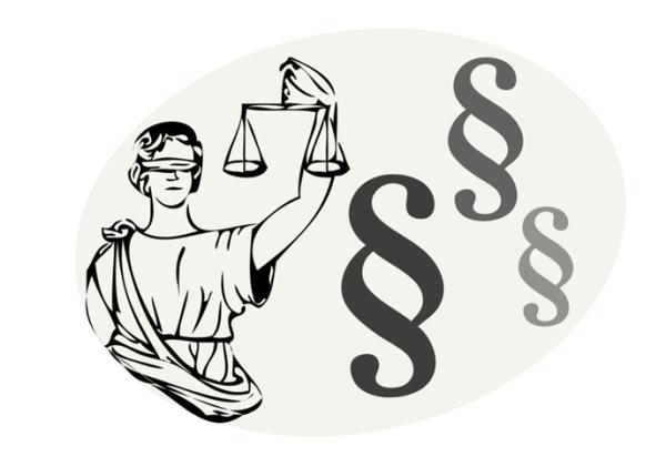 Die Waage der Justizia