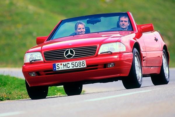 Mercedes Benz SL 3
