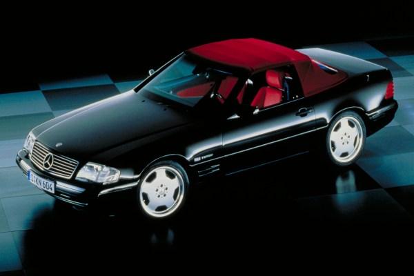 Mercedes Benz SL 4