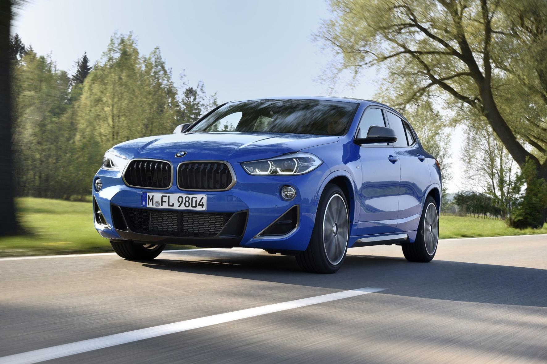 Unterwegs im Spitzenmodell der BMW-X2-Baureihe