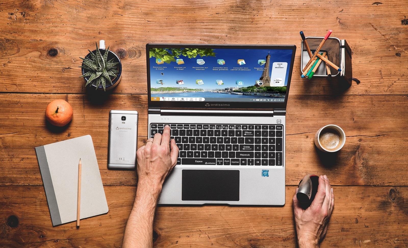 TRD Digital präsentiert: Ein Laptop, das alle bedienen können