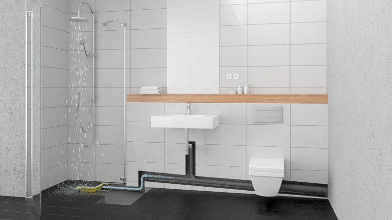 Modernes Bad: Innovative barrierefreie Dusche geschickt finanziert