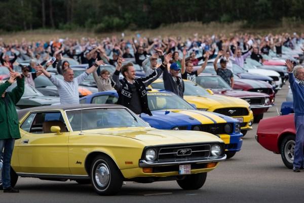 Mustang Weltrekord 1