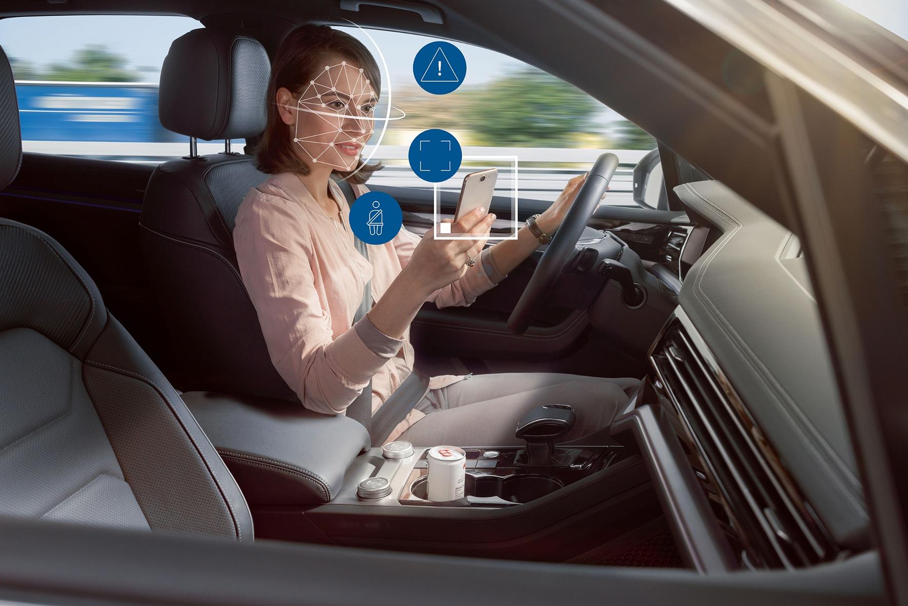 Kameraüberwachung zur Sicherheit von Beifahrern und Passagieren